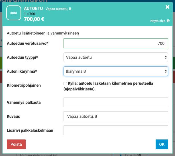 Osa-Aikatyö Palkkalaskuri
