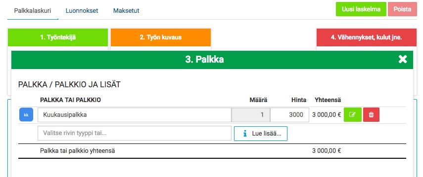 Palkka